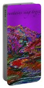 Let The Mountains Sing Portable Battery Charger