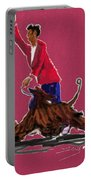 Lets Tango In Red Portable Battery Charger