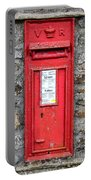 Victorian Red Letter Box Portable Battery Charger