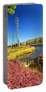Lewis River Fall Portable Battery Charger