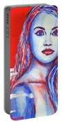 Liberty American Girl Portable Battery Charger by Anna Ruzsan