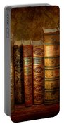 Librarian - Writer - Antiquarian Books Portable Battery Charger
