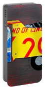 License Plate Art Dump Truck Portable Battery Charger