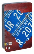 License Plate Map Of South Carolina By Design Turnpike Portable Battery Charger