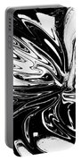 Licorice In Abstract Portable Battery Charger