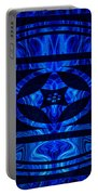 Life Force Within Abstract Healing Artwork Portable Battery Charger