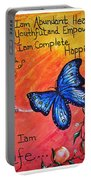 Life - Healing Art Portable Battery Charger by Absinthe Art By Michelle LeAnn Scott