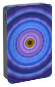 Life Light - Abstract Art By Sharon Cummings Portable Battery Charger