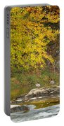 Life On The River Portable Battery Charger by Bill Wakeley