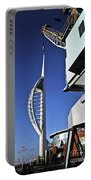 Lifting Portsmouth's Spinnaker Tower Portable Battery Charger