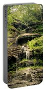 light flow at Cathedral Falls Portable Battery Charger