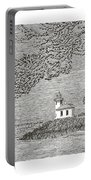 Light House On San Juan Island Lime Point Lighthouse Portable Battery Charger