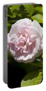 Light Pink Rose Portable Battery Charger