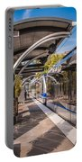Light Rail Train System In Downtown Charlotte Nc Portable Battery Charger