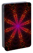 Light Show Abstract 4 Portable Battery Charger