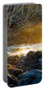 Light The Way - Arch Rock In Pfeiffer Beach In Big Sur. Portable Battery Charger by Jamie Pham