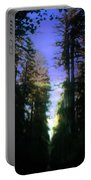 Light Through The Forest Portable Battery Charger