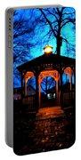 Lighted Gazebo Sunset Park Portable Battery Charger