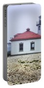Lighthouse At Alki Beach Portable Battery Charger