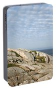 Lighthouse At Peggys Point Nova Scotia Portable Battery Charger