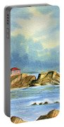 Lighthouse At Portland Head Maine Portable Battery Charger