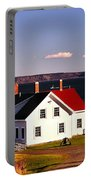 Lighthouse At West Quoddy Head Portable Battery Charger