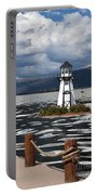 Lighthouse In Lake Dillon Portable Battery Charger