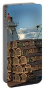 Lighthouse On A Channel By Cascumpec Bay On Prince Edward Island No. 094 Portable Battery Charger