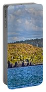 Lighthouse On Brier Island In Digby Neck-ns Portable Battery Charger