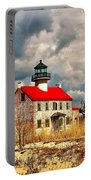 Lighthouse On The Delaware Portable Battery Charger