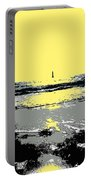 Lighthouse On The Horizon Portable Battery Charger
