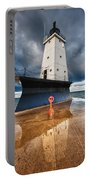 Lighthouse Reflection Portable Battery Charger