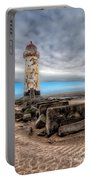 Lighthouse Steps Portable Battery Charger by Adrian Evans