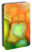 Lightness Of Being Abstract Art By Sharon Cummings Portable Battery Charger