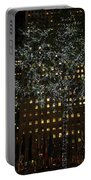 Lights In Rockefeller Center Portable Battery Charger