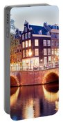 Lights Of Amsterdam Portable Battery Charger