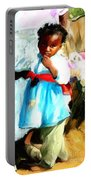 Lil Girl  Portable Battery Charger