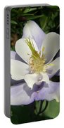 Lilac Columbine Portable Battery Charger