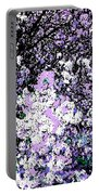 Lilac Crepe Myrtle Bloom  Portable Battery Charger