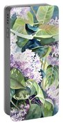 Lilac Delight Portable Battery Charger
