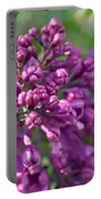 Lilac Dizzy Portable Battery Charger