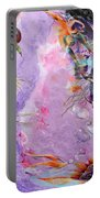 Lilac Goldfish Portable Battery Charger