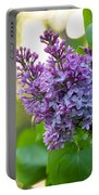 Lilac Heaven Portable Battery Charger