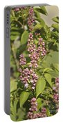 Lilac In Spring Portable Battery Charger