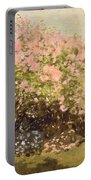 Lilac In The Sun, 1873 Portable Battery Charger