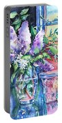 Lilac Light Portable Battery Charger