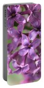 Lilac Meditation Aroma Portable Battery Charger