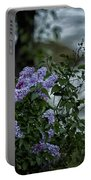 Lilacs By The River Portable Battery Charger