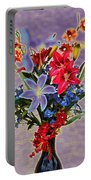 Lilies And Orchids Topaz II Portable Battery Charger
