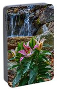 Lilies Of The Falls Portable Battery Charger